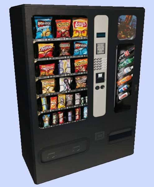 3ds max vending machine
