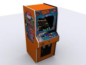 3dsmax donkeykong junior arcade