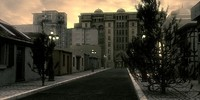 3ds max photorealistic night street