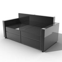 sofa 3d lwo