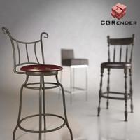3d bar chair barchair