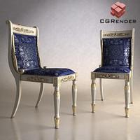3d chair versace model