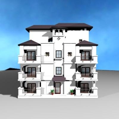 3d 3ds architecture