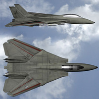 f14 tomcat aircraft tom 3d model