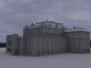 imperial palace 3d obj