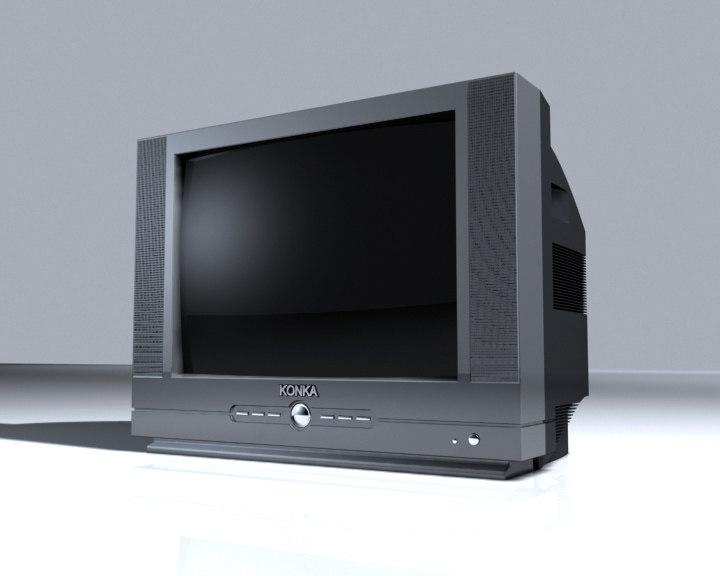 3d tv konka model