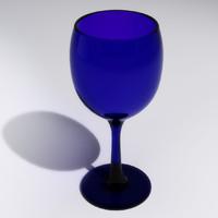cobalt blue stemware max