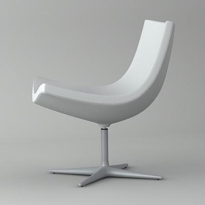 3d model y chair