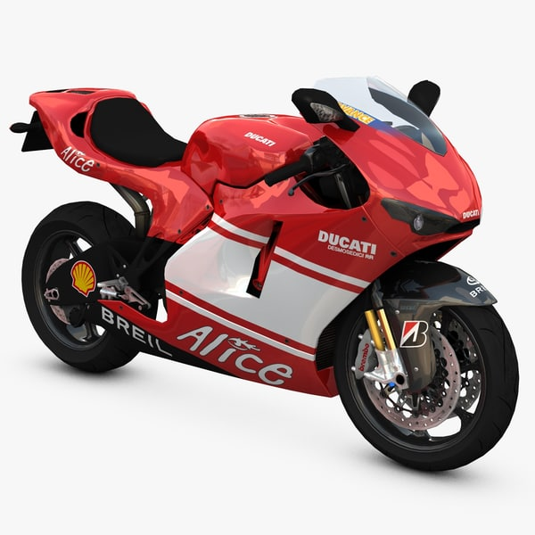 desmosedici gp super 3d model