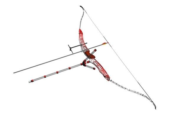 recurve bow 3d max