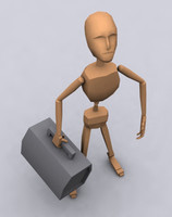 3d model garry animation