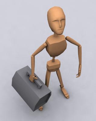 3d model garry animation