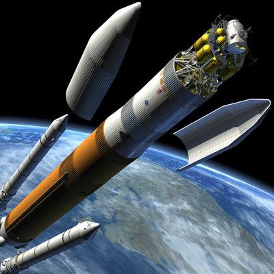nasa rocket spacecraft 3d max