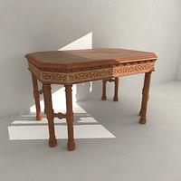 3d model duckworth desk