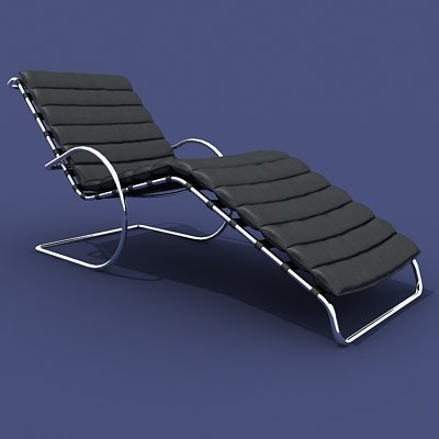 ludwig deck chair 3ds