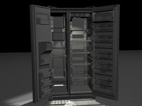 3d fridge freezer