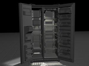 3d fridge freezer