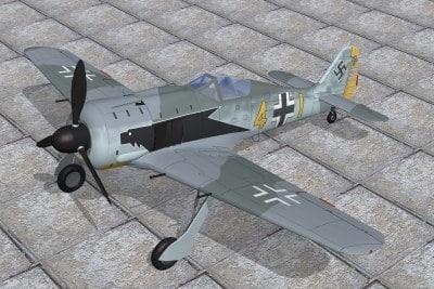 aircraft 3d lwo