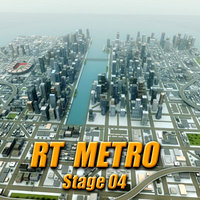 city environment 3d model