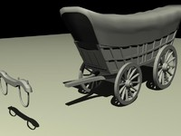 3ds max wagon
