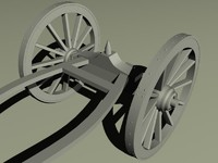 3dsmax limber cannon