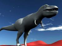trex rex 3d model