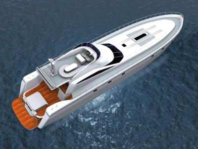 3d deck sea motor boats