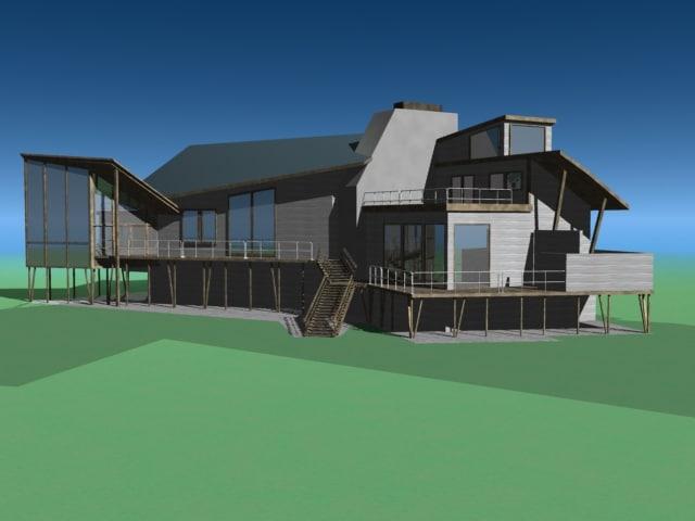 maya modern architecture home