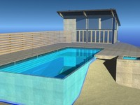 pool house max