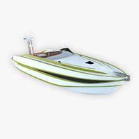 Motor Boat Scorpion
