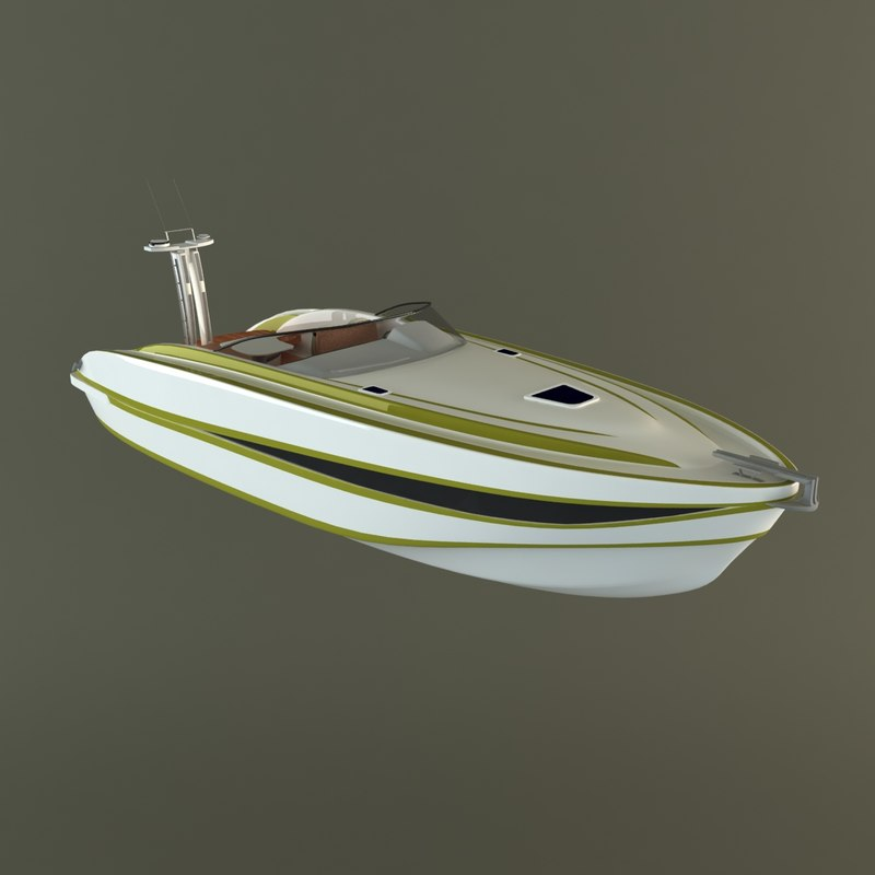 max hi motor boat scorpion
