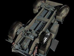 3d panzer ww2 model