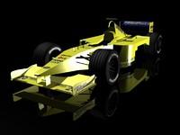 formula 1 bolide minardi 3d model
