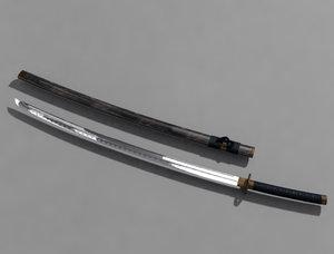 maya samurai sword katana