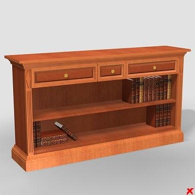 3d sideboard furniture storage model