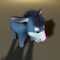 donkey toy 3d model