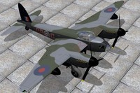 haviland mosquito 3d model