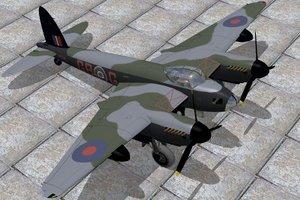 haviland mosquito 3d model