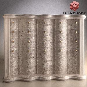 3dsmax dresser furniture