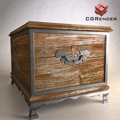 furniture chest 3d model