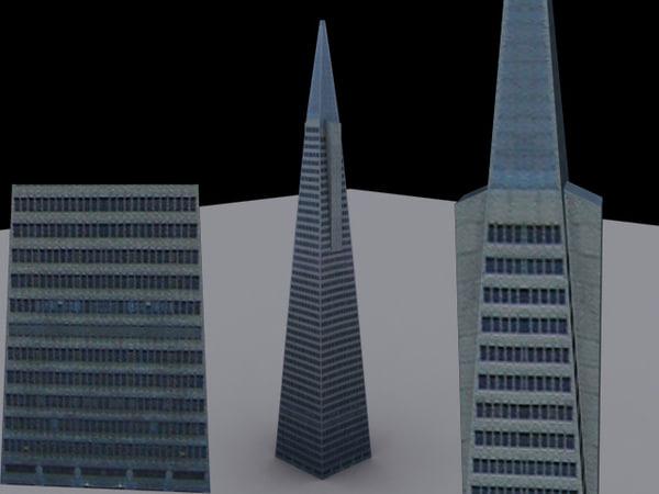 3ds skyscraper building tower