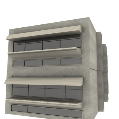 3ds house industrial