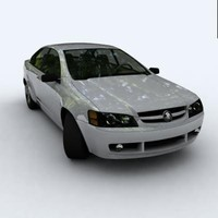 3dsmax holden commodore ve 2007