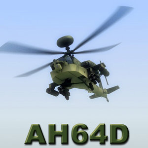 3ds max ah64d apache longbow attack helicopter