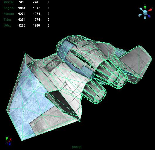 spacecraft space 3d obj