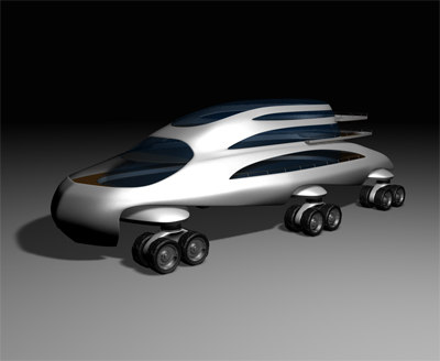 3d desert cruise model