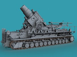 3d german mortar wwii