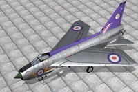 english electric lightning 3d max