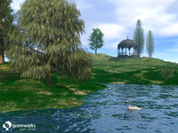 3d model basic trees xfrogplants