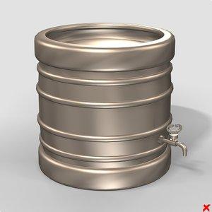 3ds barrel beer
